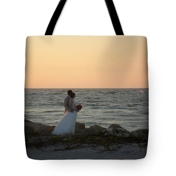 Romance In Captiva Tote Bag