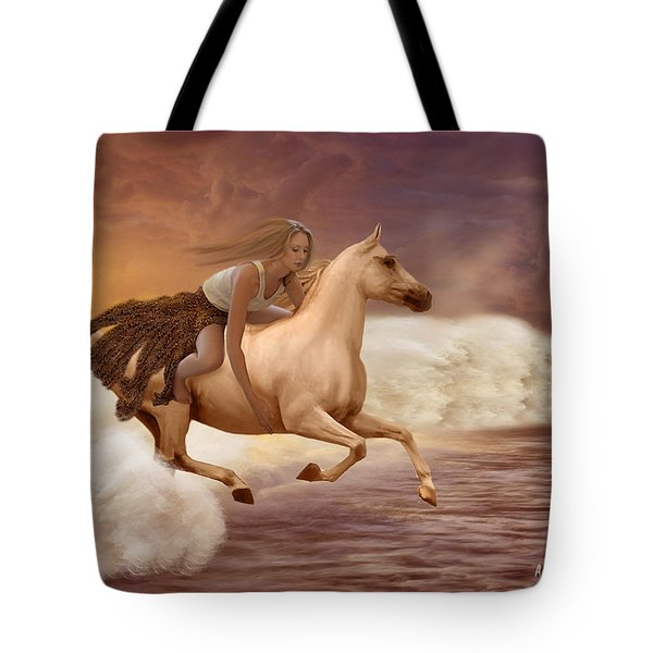Romance In Her Dream Tote Bag by Angela A Stanton