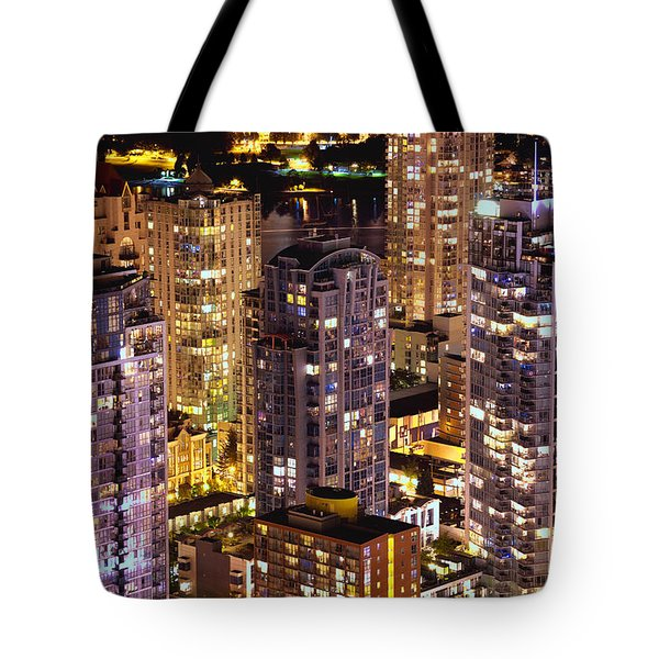 Romantic Yaletown Vancouver Canada Mcdxxxi Tote Bag