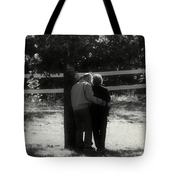 Romance Never Dies Tote Bag by Peggy Franz