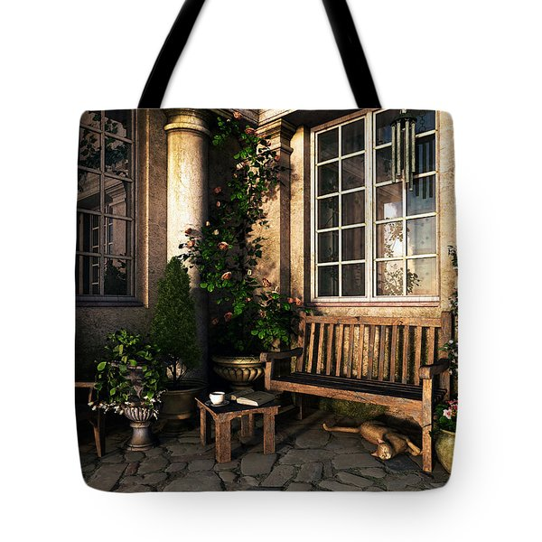 Romance Novel Tote Bag by Cynthia Decker