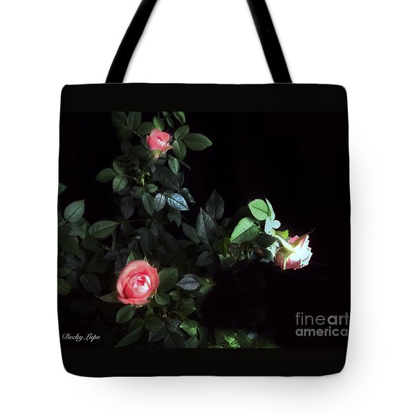 Romance Of The Roses Tote Bag