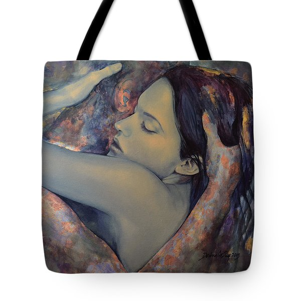 Romance With A Chimera Tote Bag