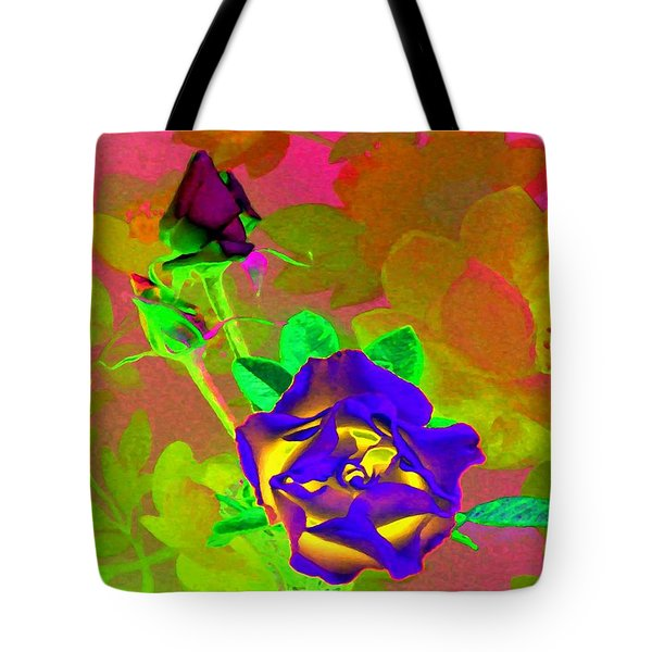 Romancing The Rose Tote Bag by Will Borden