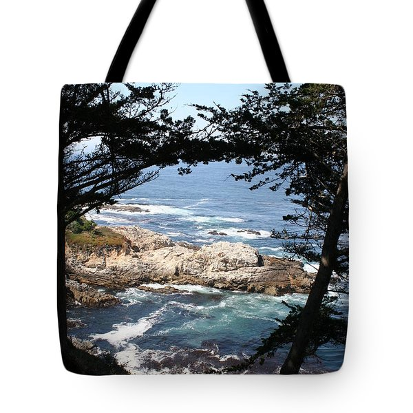 Romantic California Coast Tote Bag