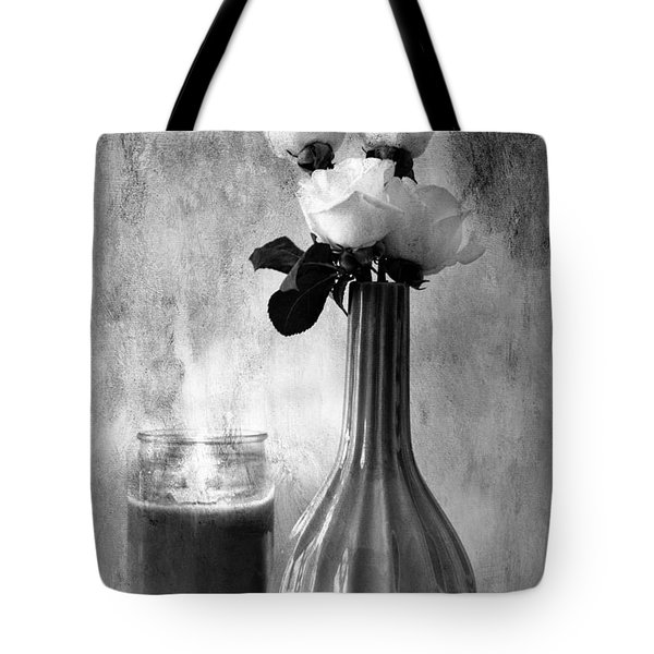 Romantic Light Tote Bag by Betty LaRue