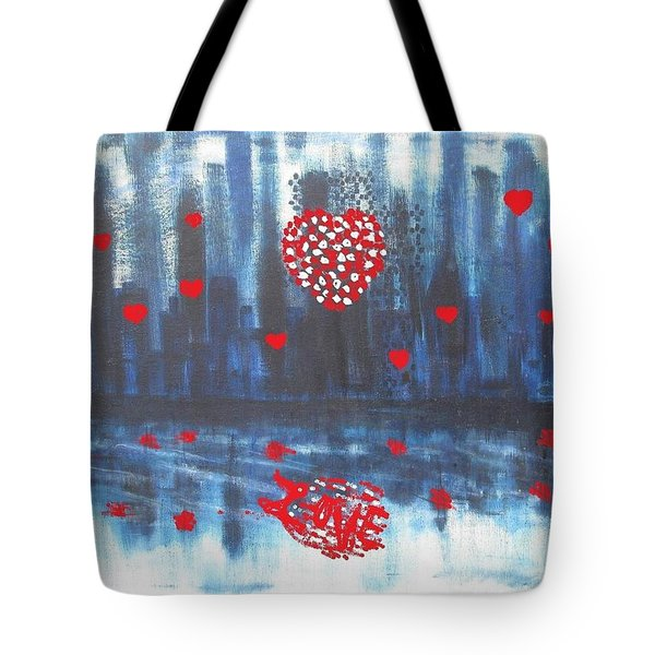 Romantic Reflection Tote Bag by Diane Pape