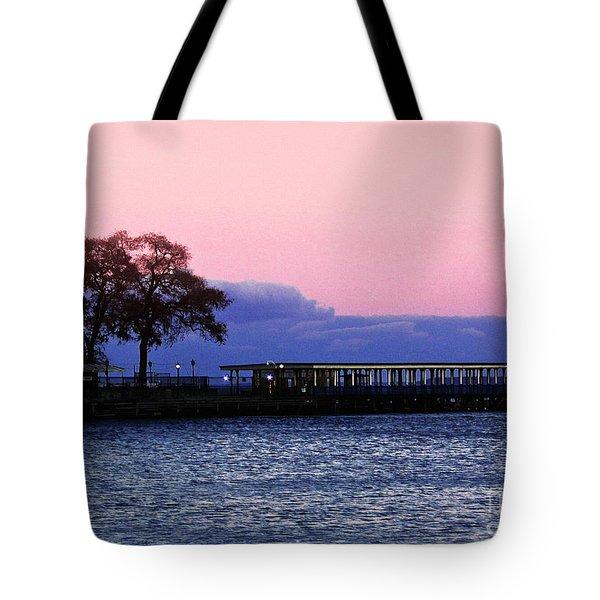 Romantic Seascape  Tote Bag by Carol F Austin