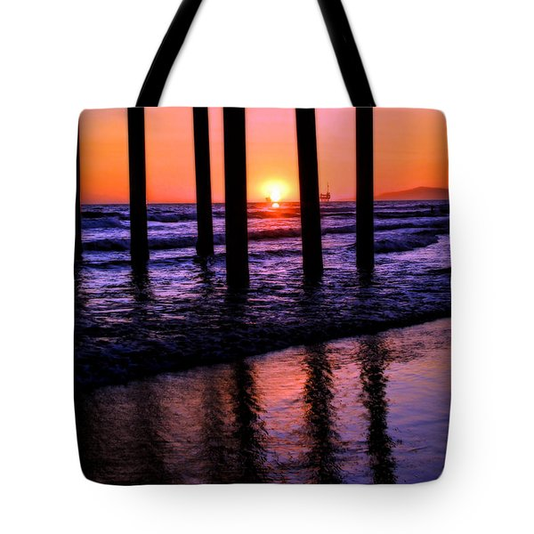 Romantic Stroll Tote Bag