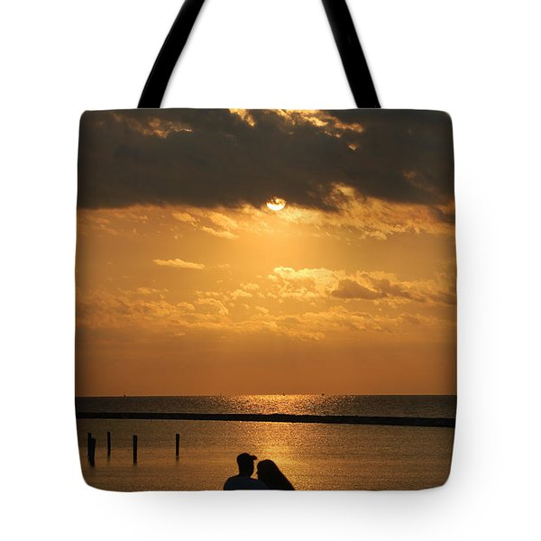 Romantic Sunrise Tote Bag
