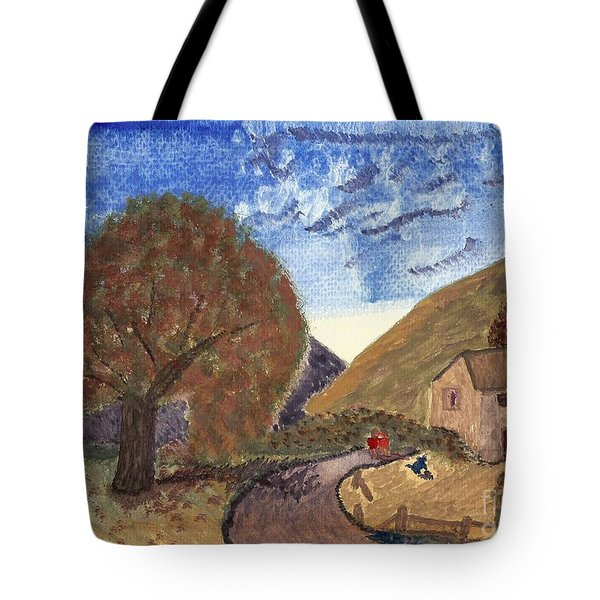 Romantic Walk Tote Bag by Tracey Williams