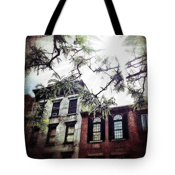 Romantic West Village Tote Bag