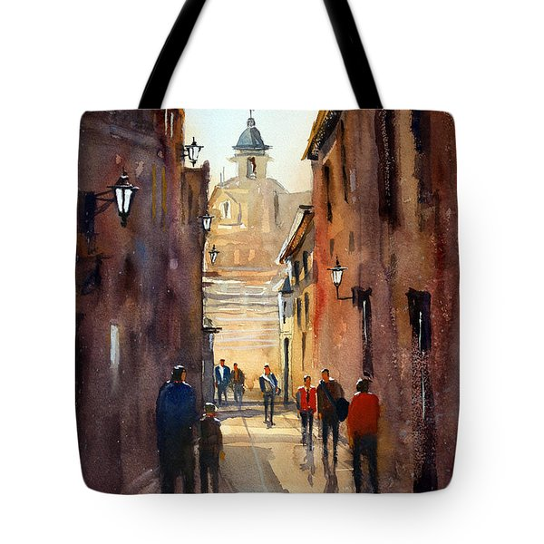 Rome Tote Bag by Ryan Radke