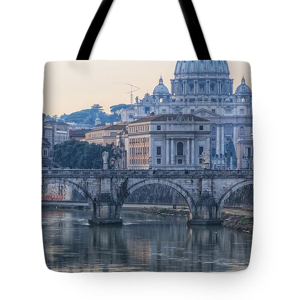 Rome Saint Peters Basilica 02 Tote Bag