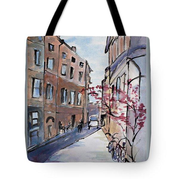 Rome Street Scene IIi Tote Bag