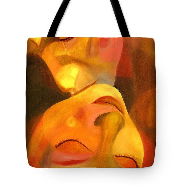 Romeo And Juliet Tote Bag by Hakon Soreide