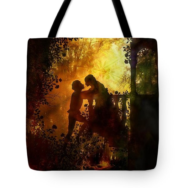 Romeo And Juliet - The Love Story Tote Bag