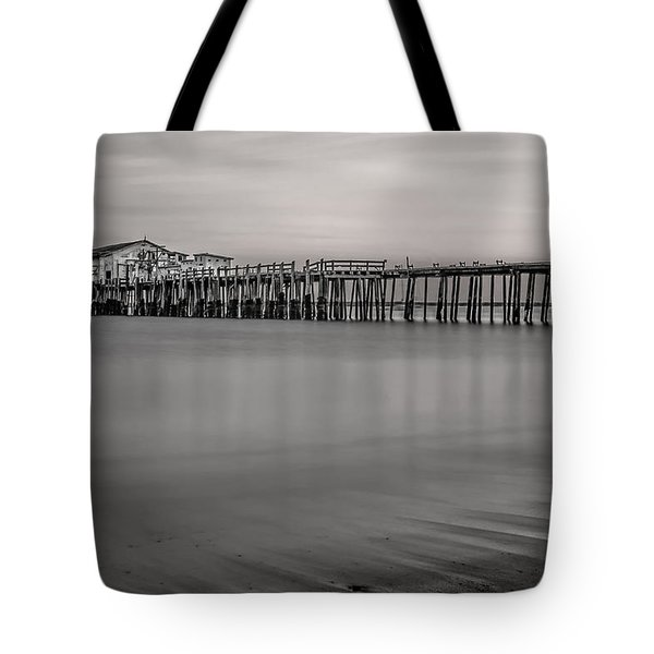 Romeo's Pier Bw Tote Bag