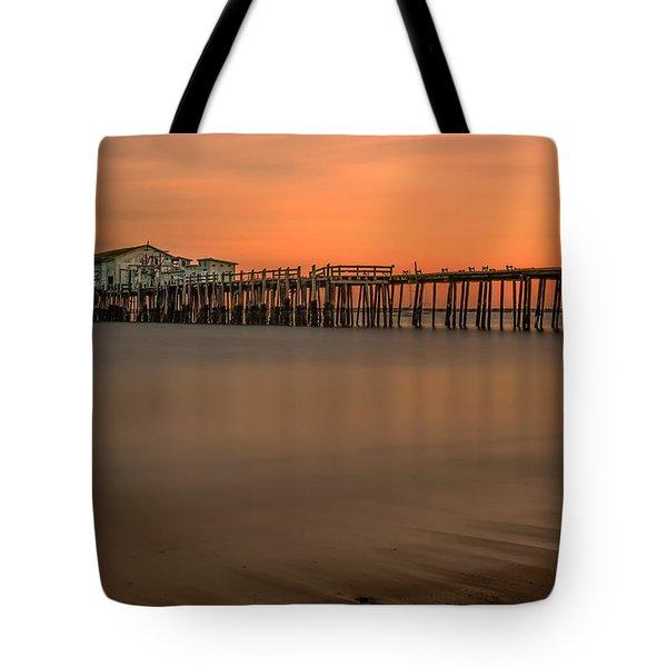 Romeo's Pier Tote Bag