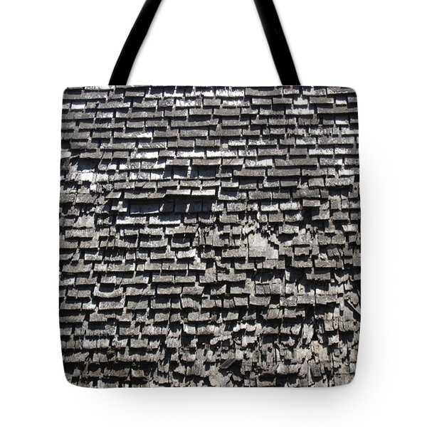 Roof Textures Tote Bag