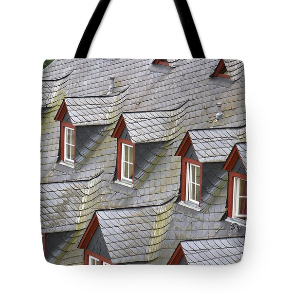 Roof Tops Tote Bag