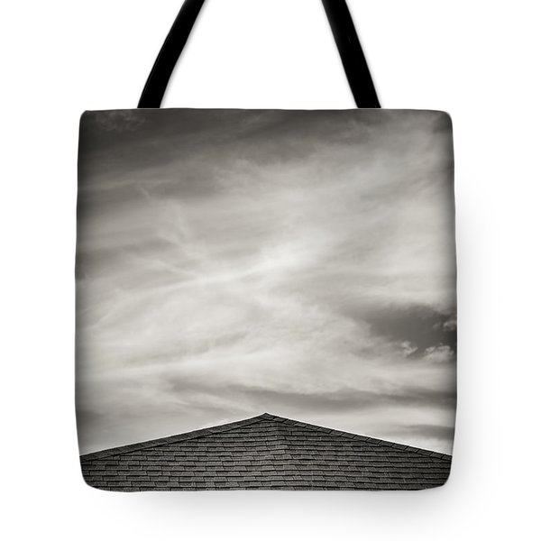 Rooftop Sky Tote Bag by Darryl Dalton