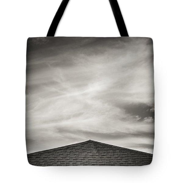 Rooftop Sky Tote Bag by Darryl Dalton