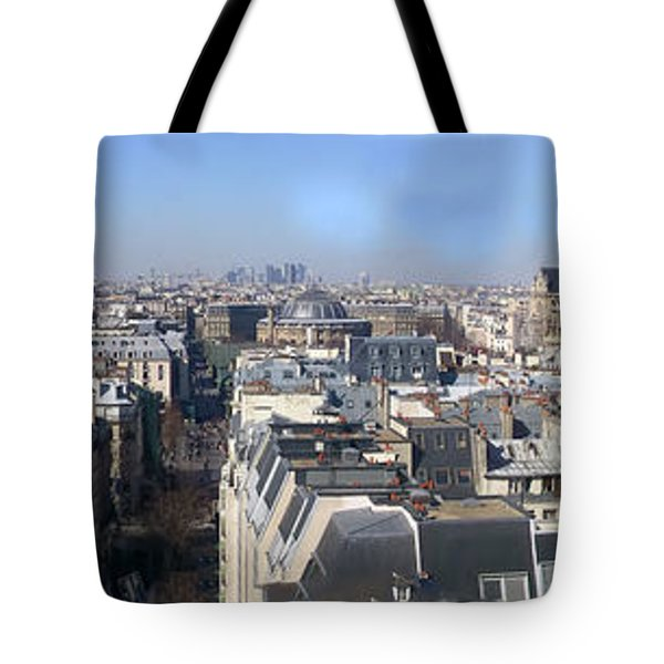 Rooftops Of Paris Tote Bag by Thomas Marchessault