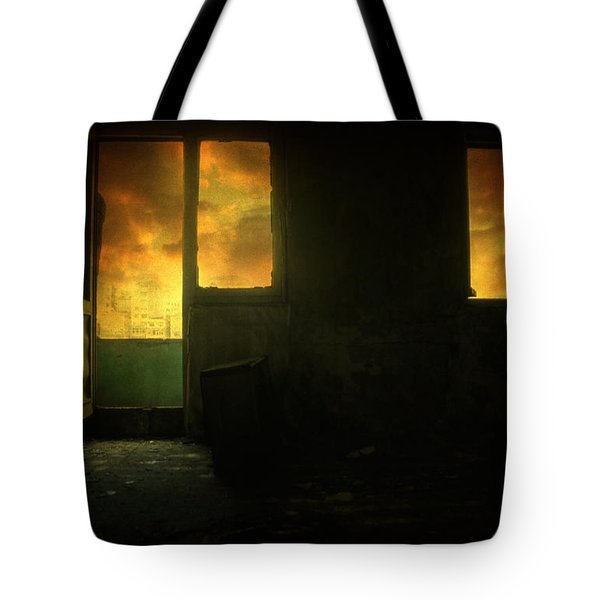 Room 9  Tote Bag by Taylan Apukovska