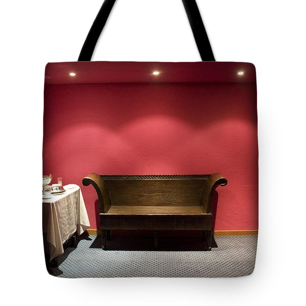 Room Service Tote Bag by Lynn Palmer