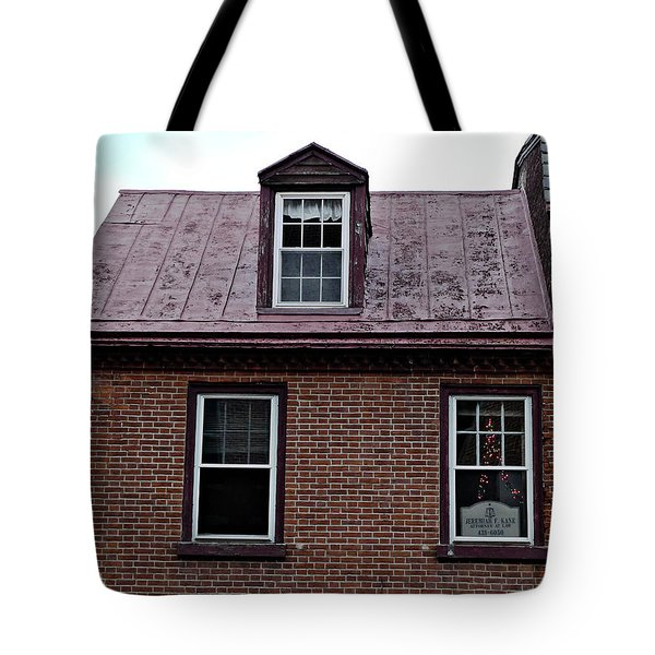 Room With A Red Tin Roof Tote Bag by Richard Reeve
