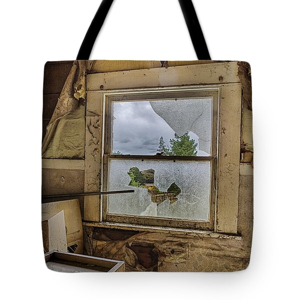 Room With A View Tote Bag by Caitlyn  Grasso