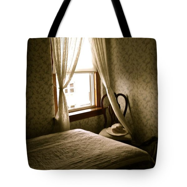 Tote Bag featuring the photograph Room301 Irish Inn by Joan Reese