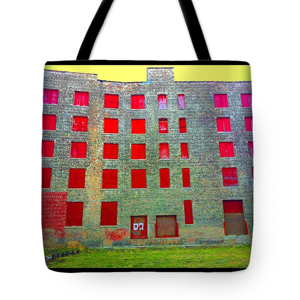 Rooms With No View Tote Bag