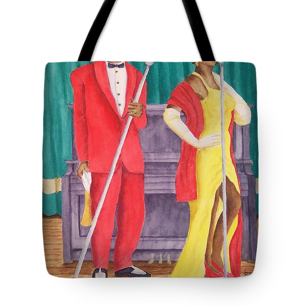 Roosevelt And Lola Tote Bag by Rhonda Leonard