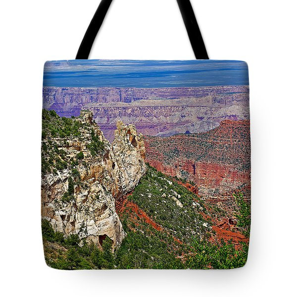 Roosevelt Point Two On North Rim/grand Canyon National Park-arizona   Tote Bag