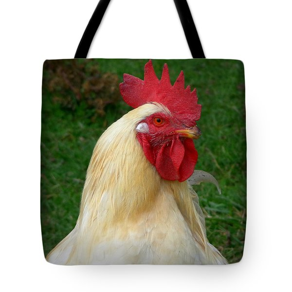 Tote Bag featuring the photograph Rooster Cogburn by Joseph Skompski