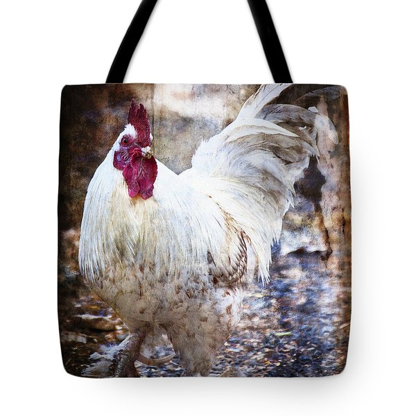 Rooster Rules The Roost Tote Bag