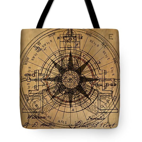 Root Patent I Tote Bag by James Christopher Hill