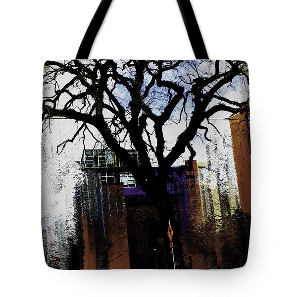 Rooted In The Unstable Tote Bag by Terence Morrissey