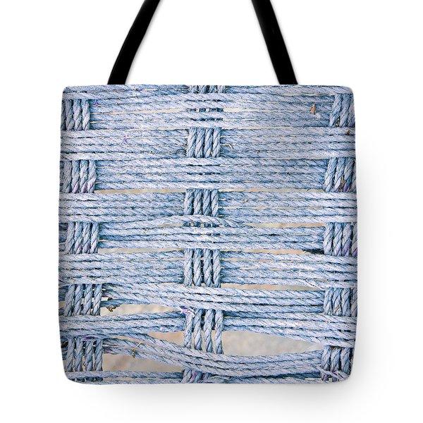 Rope Pattern Tote Bag