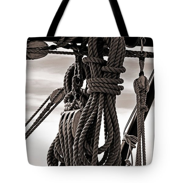 Rope Work Tote Bag
