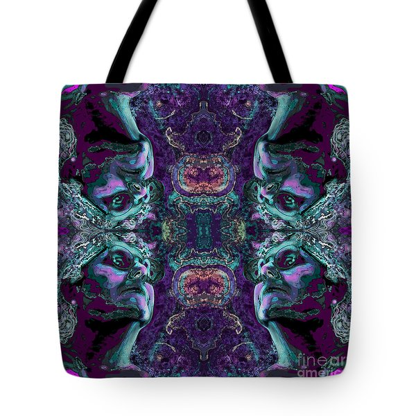 Rorschach Me Tote Bag by Carol Jacobs