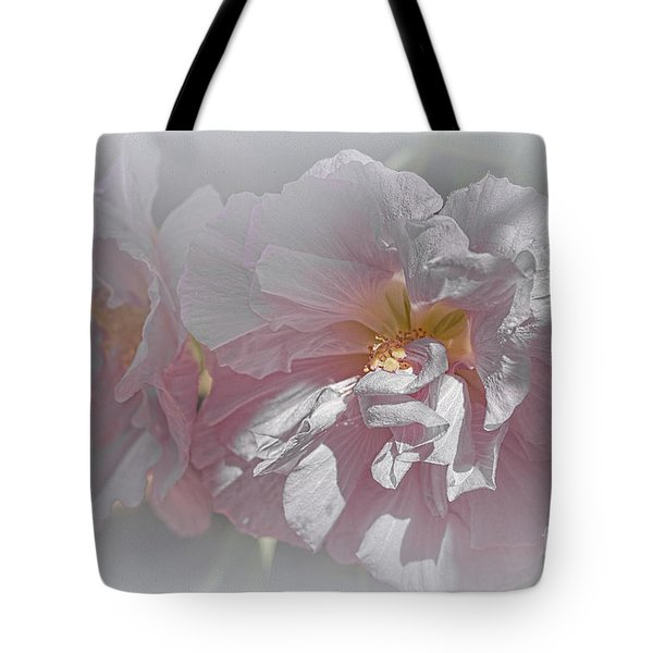 Tote Bag featuring the photograph Rosanna by Elaine Teague
