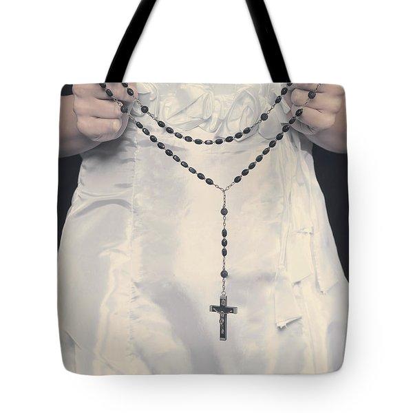 Rosary Tote Bag by Joana Kruse