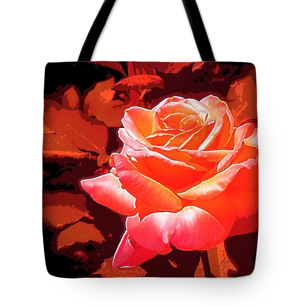 Tote Bag featuring the photograph Rose 1 by Pamela Cooper