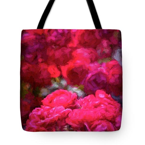 Rose 134 Tote Bag by Pamela Cooper
