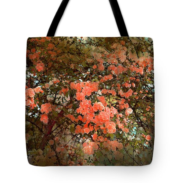 Rose 180 Tote Bag by Pamela Cooper