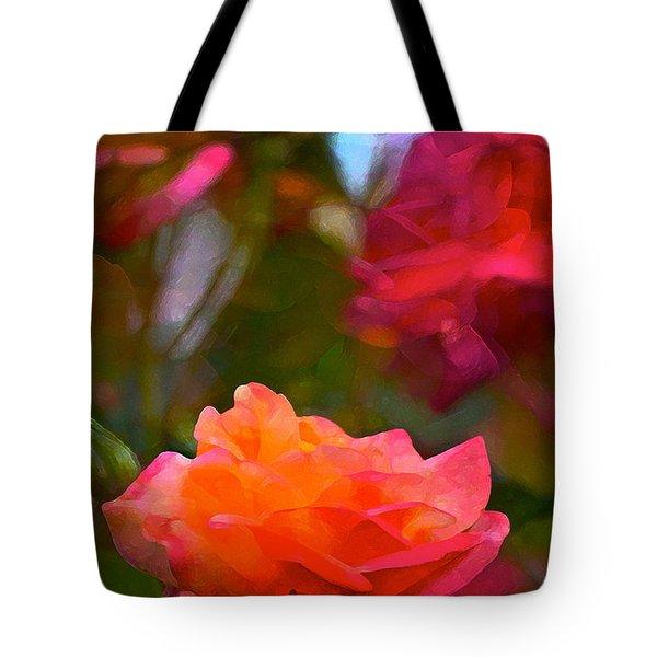 Rose 191 Tote Bag by Pamela Cooper