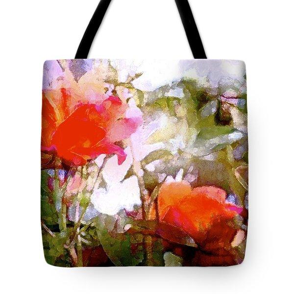 Rose 204 Tote Bag by Pamela Cooper
